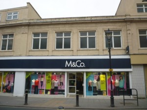M&Co, Houghton-le-Spring (13 Mar 2012). Photograph by Graham Soult