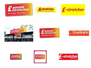 Poundstretcher logos from Google Image Search