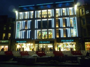 Primark, Edinburgh (28 Jan 2012). Photograph by Graham Soult