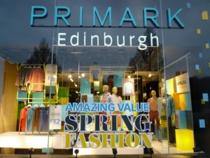 Primark, Edinburgh (29 Jan 2012). Photograph by Graham Soult