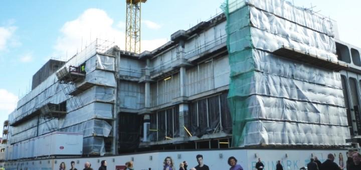 Primark site, Newcastle (5 Mar 2012). Photograph by Graham Soult