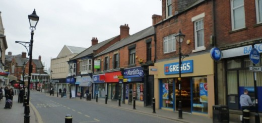 Newbottle Street, Houghton-le-Spring (13 Mar 2012). Photograph by Graham Soult