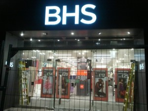 New BHS, Newcastle (16 Apr 2012). Photograph by Graham Soult