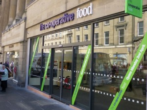New The Co-operative Food, Newcastle (30 Mar 2012). Photograph by Graham Soult