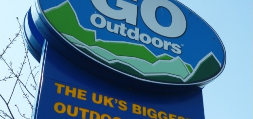 Go Outdoors signage, Newcastle (25 Mar 2012). Photograph by Graham Soult