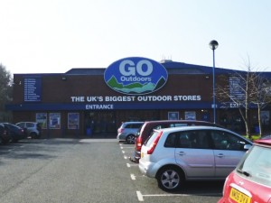 Go Outdoors, Newcastle (25 Mar 2012). Photograph by Graham Soult