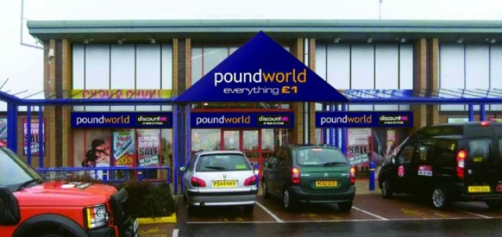 Artist's impression of new Cramlington Poundworld store. Image courtesy of Poundworld