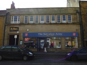 ...and now, as The Salvation Army (31 Mar 2012). Photograph by Graham Soult