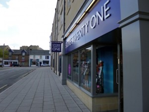Store Twenty One, Alnwick (31 Mar 2012). Photograph by Graham Soult