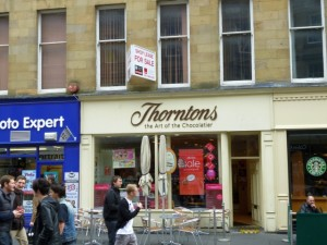 Thorntons, Grainger Street, Newcastle (9 Apr 2012). Photograph by Graham Soult
