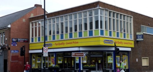 Heron Foods (former Woolworths), Wallsend (19 Mar 2012). Photograph by Graham Soult