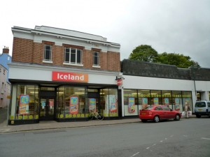 Former Woolworths (now Iceland), Monmouth (8 Oct 2011). Photograph by Graham Soult