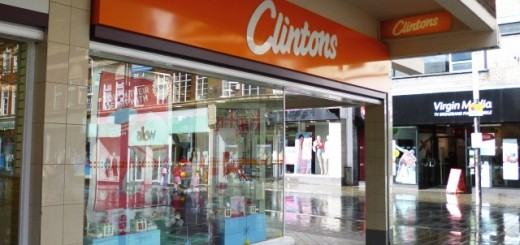 Clintons, St Helens (10 May 2012). Photograph by Graham Soult