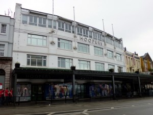 Hoopers' Torquay flagship (29 Apr 2012). Photograph by Graham Soult