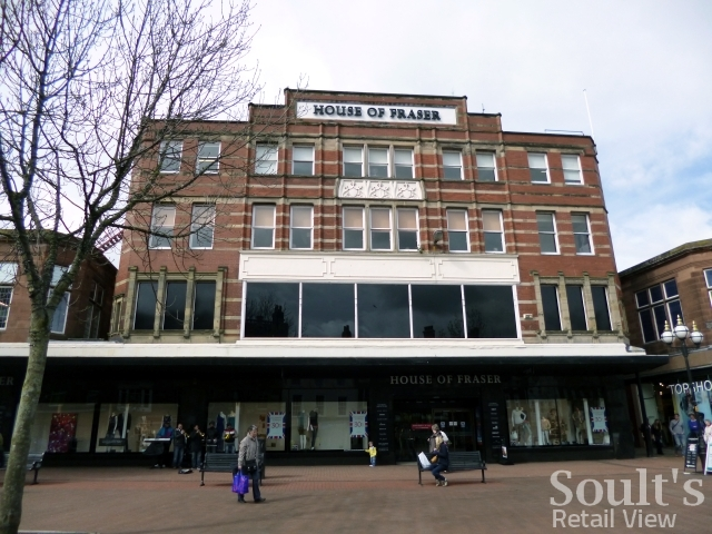 The closure of hoopers department store in carlisle and for Quality classic house of fraser