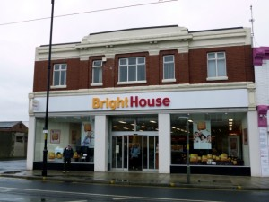 Former Woolworths (now BrightHouse), Fleetwood (10 May 2012). Photograph by Graham Soult