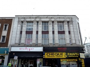 Burton building, Gateshead High Street (15 Mar 2012). Photograph by Graham Soult