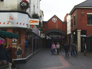 Saved Clintons store in Middlesbrough (17 Sep 2009). Photograph by Graham Soult