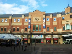 Metro Outlet and ex-Peacocks, Middlesbrough (7 Mar 2012). Photograph by Graham Soult