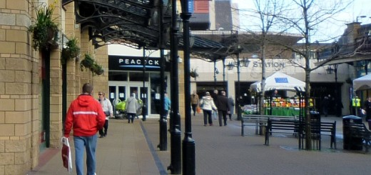 Former Peacocks, Middlesbrough (7 Mar 2012). Photograph by Graham Soult