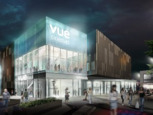 Impression of Vue Cinemas, Gateshead. Source: Gateshead Council