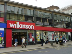 Wilkinson, Sheffield - one of the first new-format stores (18 Aug 2011). Photograph by Graham Soult