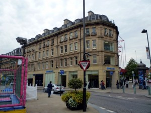 Barclays (former Gap), Sheffield (18 Aug 2012). Photograph by Graham Soult