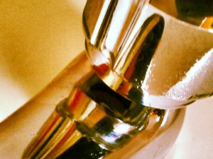 Bathroom tap. Photograph by Graham Soult