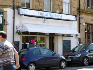 Deli at Number 4, Hexham (30 Jun 2012). Photograph by Graham Soult