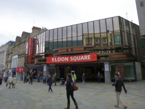 How the Eldon Square entrance looks now (2 Jul 2012), Photograph by Graham Soult