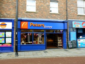 Saved Peters store in North Road, Durham (1 Aug 2012). Photograph by Graham Soult