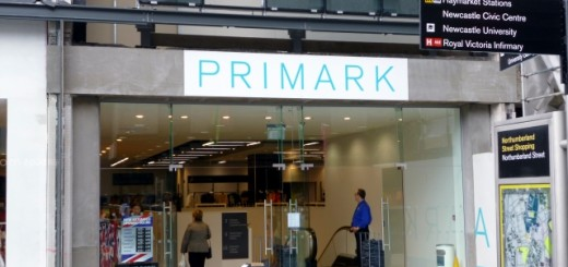 New entrance at Primark, Newcastle (27 Jul 2012). Photograph by Graham Soult