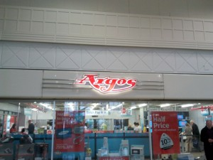 Argos, Broadmarsh, Nottingham (16 Aug 2012). Photograph by Graham Soult