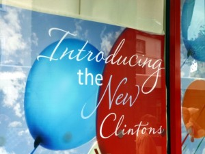 New Clintons store, Stowmarket (2 Aug 2012). Photograph by Graham Soult