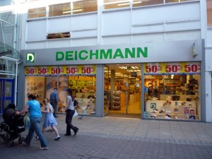 Existing Deichmann store in Sunderland (17 Jun 2010). Photograph by Graham Soult