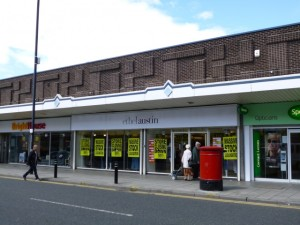 Relocated Ethel Austin store in Wallsend (30 Jul 2012). Photograph by Graham Soult