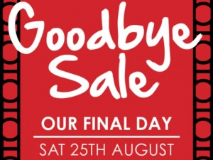 """Goodbye Sale"" at Hoopers Carlisle"