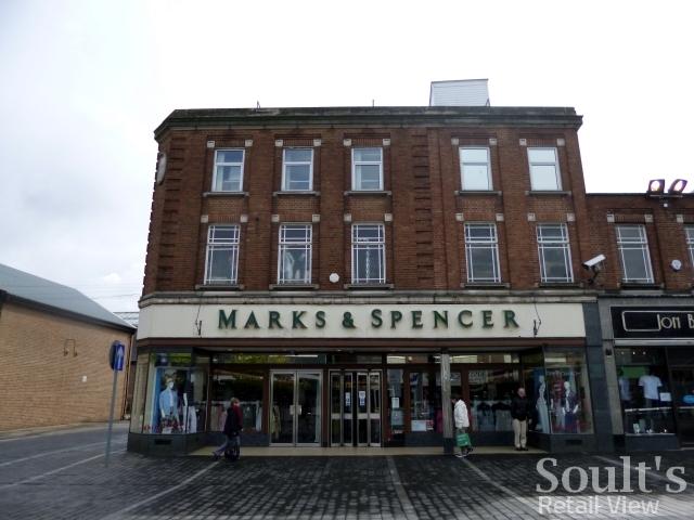 Marks & Spencer, Castleford (19 Apr 2012). Photograph by Graham Soult