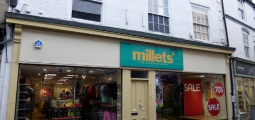 Millets, Hexham (25 Aug 2012). Photograph by Graham Soult