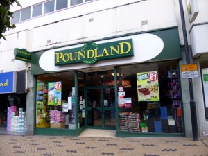 Poundland, Kirkgate, Wakefield (19 Apr 2012). Photograph by Graham Soult