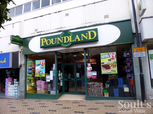 Poundland, Kirkgate, Wakefield (19 Apr 2012). Photograph by Graham Soult
