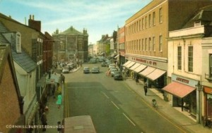 c1960s postcard of Woolworths in Bury St Edmunds
