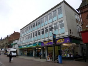 Former Woolworths (now Poundland), Ipswich (2 Aug 2012). Photograph by Graham Soult