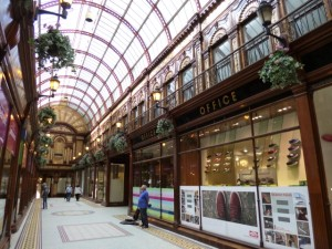 Central Arcade, Newcastle, prior to Office's relocation (28 Aug 2012). Photograph by Graham Soult