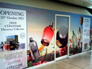 L'Occitane en Provence, Eldon Square, Newcastle (25 Sep 2012). Photograph by Graham Soult