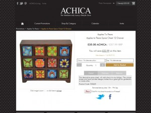 Spice chest at Achica (20 Aug 2012)