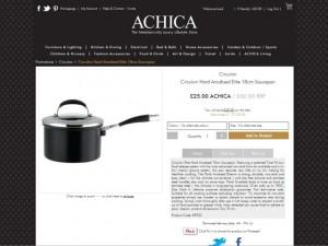 My elusive Achica saucepan (13 Jun 2012)