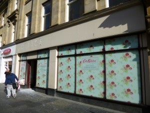 Cath Kidston site, Newcastle (9 Oct 2012). Photograph by Graham Soult