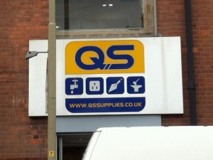 QS Supplies showroom, Leicester (4 Sep 2012)