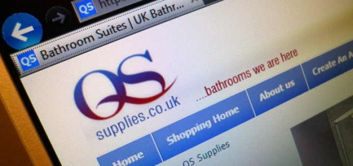 QS Supplies website (13 Aug 2012)